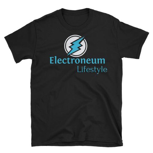 New Electroneum Lifestyle - Short-Sleeve Unisex T-Shirt