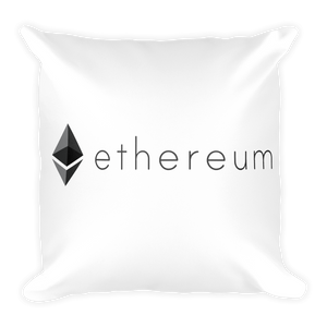New Soft Ethereum Square Pillow