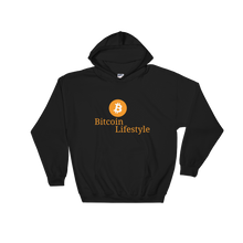 New Bitcoin Lifestyle High Quality Hooded Sweatshirt