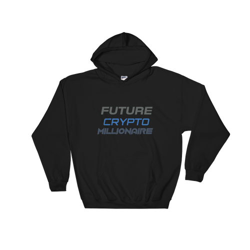 Latest Future Crypto Millionaire High Quality Hooded Sweatshirt