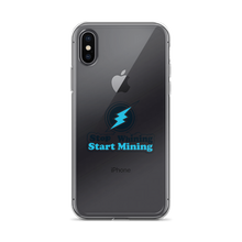 Stop Whining Start Mining High Quality iPhone Case