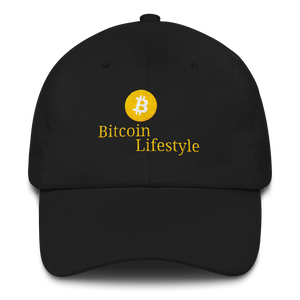 High Quality Bitcoin Lifestyle Dad hat