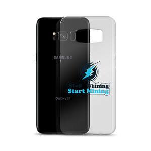 New Stop Whining Start Mining Samsung Case