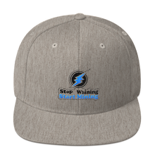 Cool Stop Whining Start Mining Snapback Hat