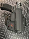 Xpert OWB Holster (Outside WaistBand) with optional dry box and Keychain