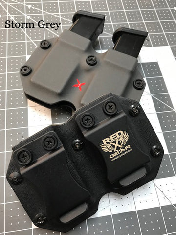 DupleX DS - Universal 9/40 Double stack magazine carrier - RedX Gear