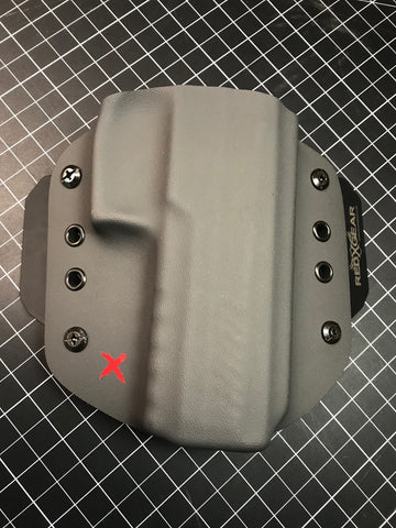 ReduX OWB Holster (Outside WaistBand) - RedX Gear