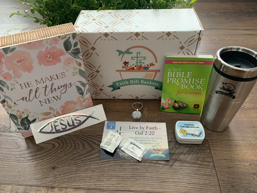 Christian Woman Gifts Basket