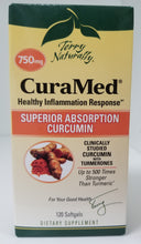 Load image into Gallery viewer, CuraMed 750 mg 120 Softgels