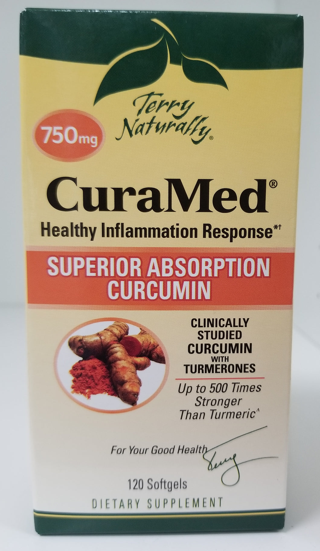 CuraMed 750 mg 120 Softgels