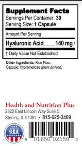 Hyalauronic Acid 30 - currently out of stock