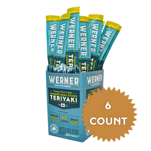 Teriyaki Smoked Meat Sticks