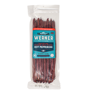 Hot Pepperoni Smoked Meat Sticks