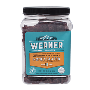 All Natural Honey Glazed Beef Jerky
