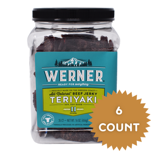 All Natural Teriyaki Beef Jerky