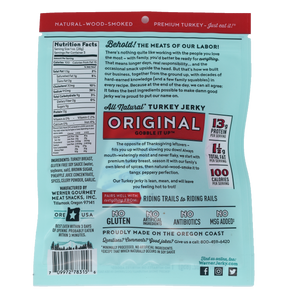 All Natural Original Turkey Jerky