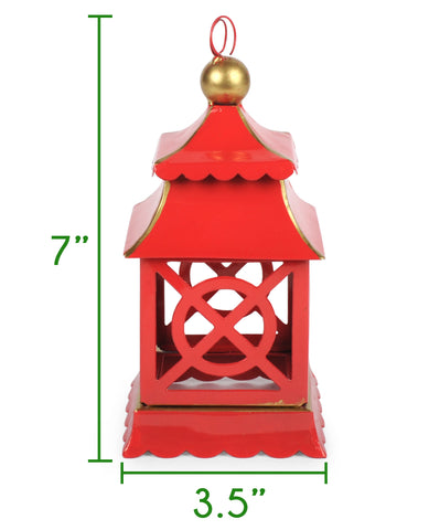 Shanghai Ornament Size Guide