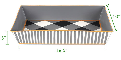 Tray with Handles Size Guide