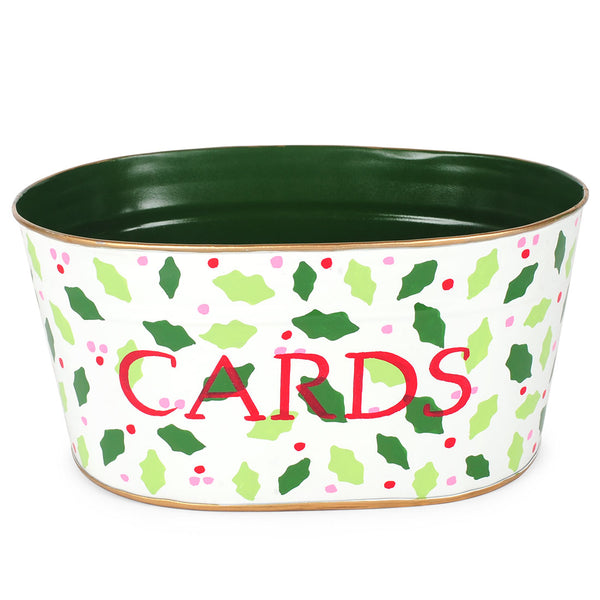 "Hollies & Berrys Cream ""CARDS"" Tub"
