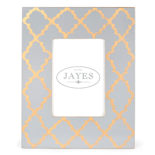 "Madeline Grey Gold 5""x7"" Picture Frame"