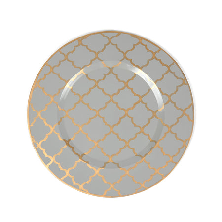 Anchors Scalloped Round Tray
