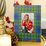 Scottish Plaid Photo Frame