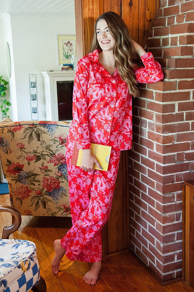 Milly & Lilly Sateen Full Pajama Set