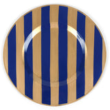 Brushed Stripe Navy 14