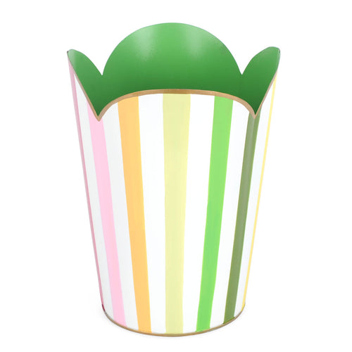 Bayshore Multi Color Tulip Wastebasket