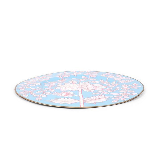 "Floral Toile 11"" Charger Plate 4-Pack"