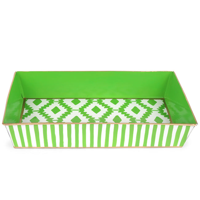 Aztec Green Organizing Tray