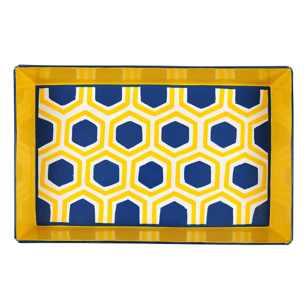 Honeycomb Bright Serving Tray