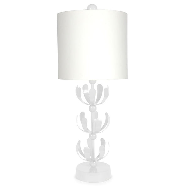 Color Block White J'adore Lamp