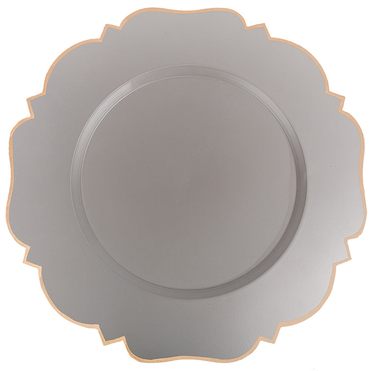 "Abbey 14"" Charger Plate 4-Pack"