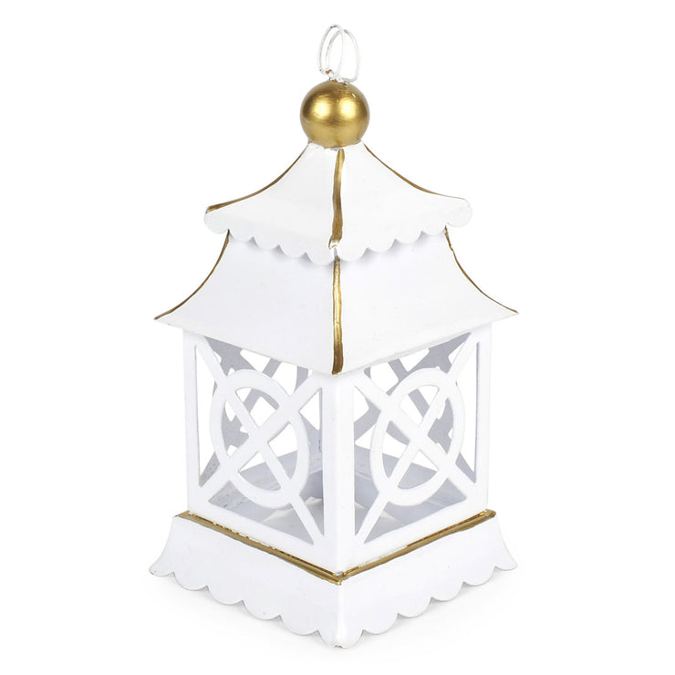 "Sample White Pagoda Ornaments ""As-Is"" (3pk)"