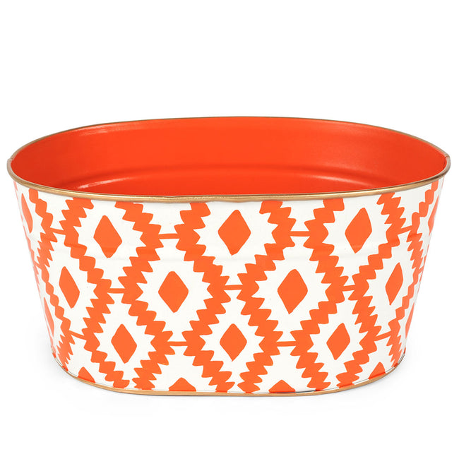 "Aztec Orange ""Mail"" Tub"