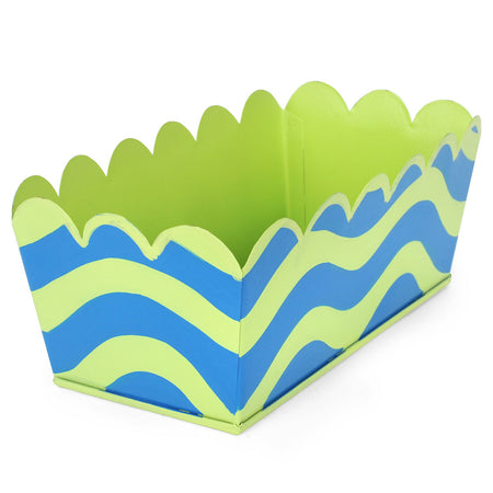 Brushed Stripe Cocktail Napkin Tray