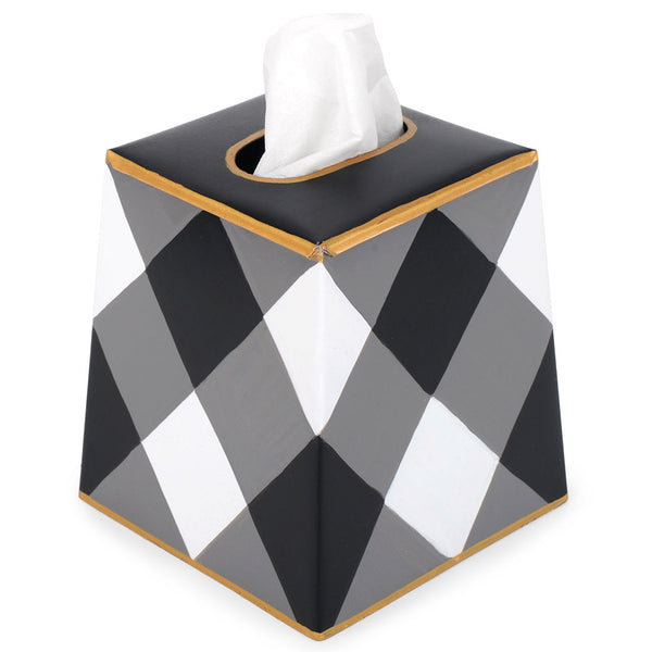Buffalo Plaid Tissue Box Cover