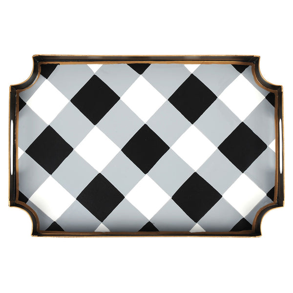 Buffalo Plaid Jaye Tray