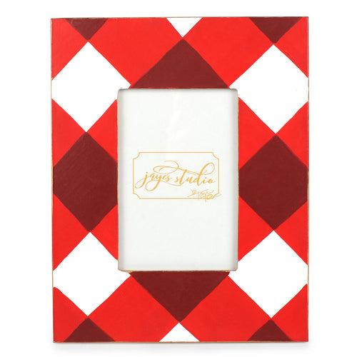 Buffalo Plaid Red Photo Frame