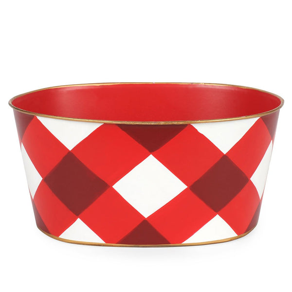 Buffalo Plaid Tub