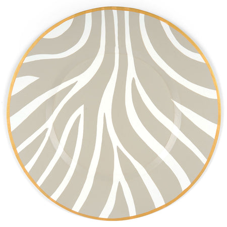 "Cane Peach 14"" Charger Plate 4-Pack"