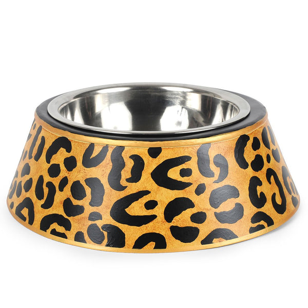 Leopard Pet Bowl