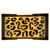 Leopard Guest Towel Tray