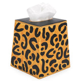 Leopard Tissue Box Cover
