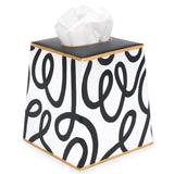 Scribbles Tissue Box Cover