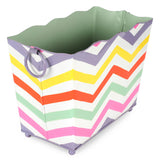 Capri Chevron Magazine Holder