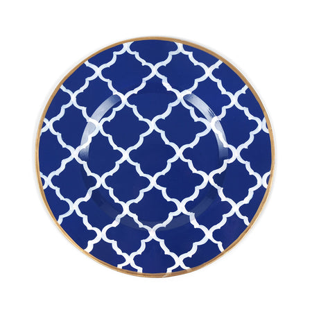Don't Fret Blue Napkin Ring (4 pack)