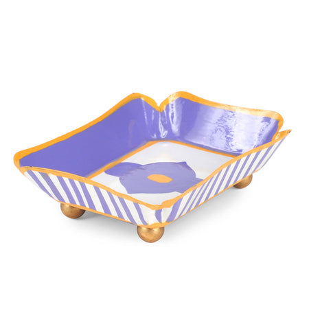 Felix Purple Cocktail Napkin Tray