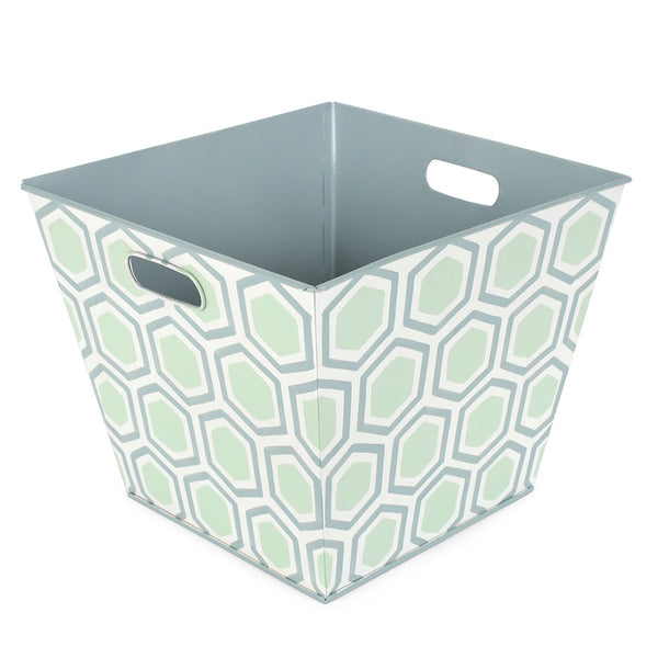 Honeycomb Green Storage Bin
